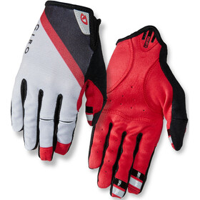 Giro DND Gloves Gray/Dark Red/Black